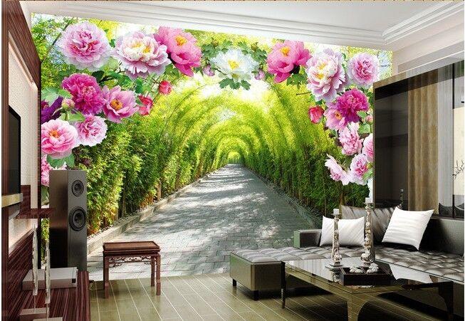 3D Blaumen Bambusgarten 73 Tapete Wandgemälde Tapete Tapeten Bild Familie Familie Familie DE | Smart  | Deutsche Outlets  |  0e9c75