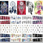 12 Patterns Decals Water Transfer Manicure Nail Art Stickers Tips Decoration