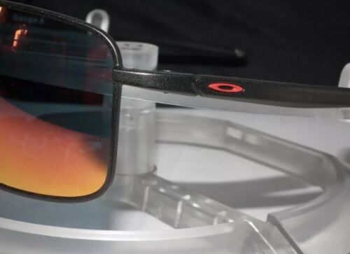 f4a92957f1b Oakley Gauge 8 M Aviator Sunglasses Matte Carbon   Ruby Iridium for sale  online