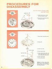 accutron service manuals series 214 and 218 bulova watch ebay rh ebay com bulova accutron service manual series 218 Bulova Accutron