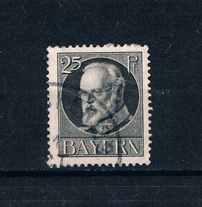 """Altdeutschland Bayern 1914 Freimarken """"König Ludwig III"""" 25 Pf gestempelt - Hohendubrau, Deutschland - Altdeutschland Bayern 1914 Freimarken """"König Ludwig III"""" 25 Pf gestempelt - Hohendubrau, Deutschland"""