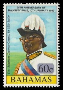 "BAHAMAS 743 (SG927) - Liberal Party ""Governor General Milo Butler"" (pa51436)"