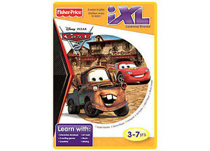 Disney-Pixar-Cars-2-Fisher-Price-iXL-Learning-System-Software-Game