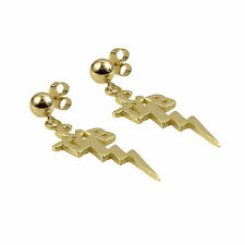 Elvis Presley -  Ladies TCB Earrings - 9k Gold