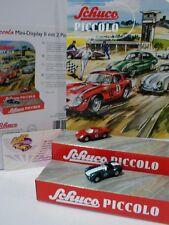 Schuco Piccolo 09552 # Mini Display II mit Ferrari 250 LM No.5 + AC Cobra No.6
