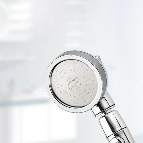 Shower Head High Pressure 3 Setting with ON//OFF Pause Switch Adjustable Spa UK