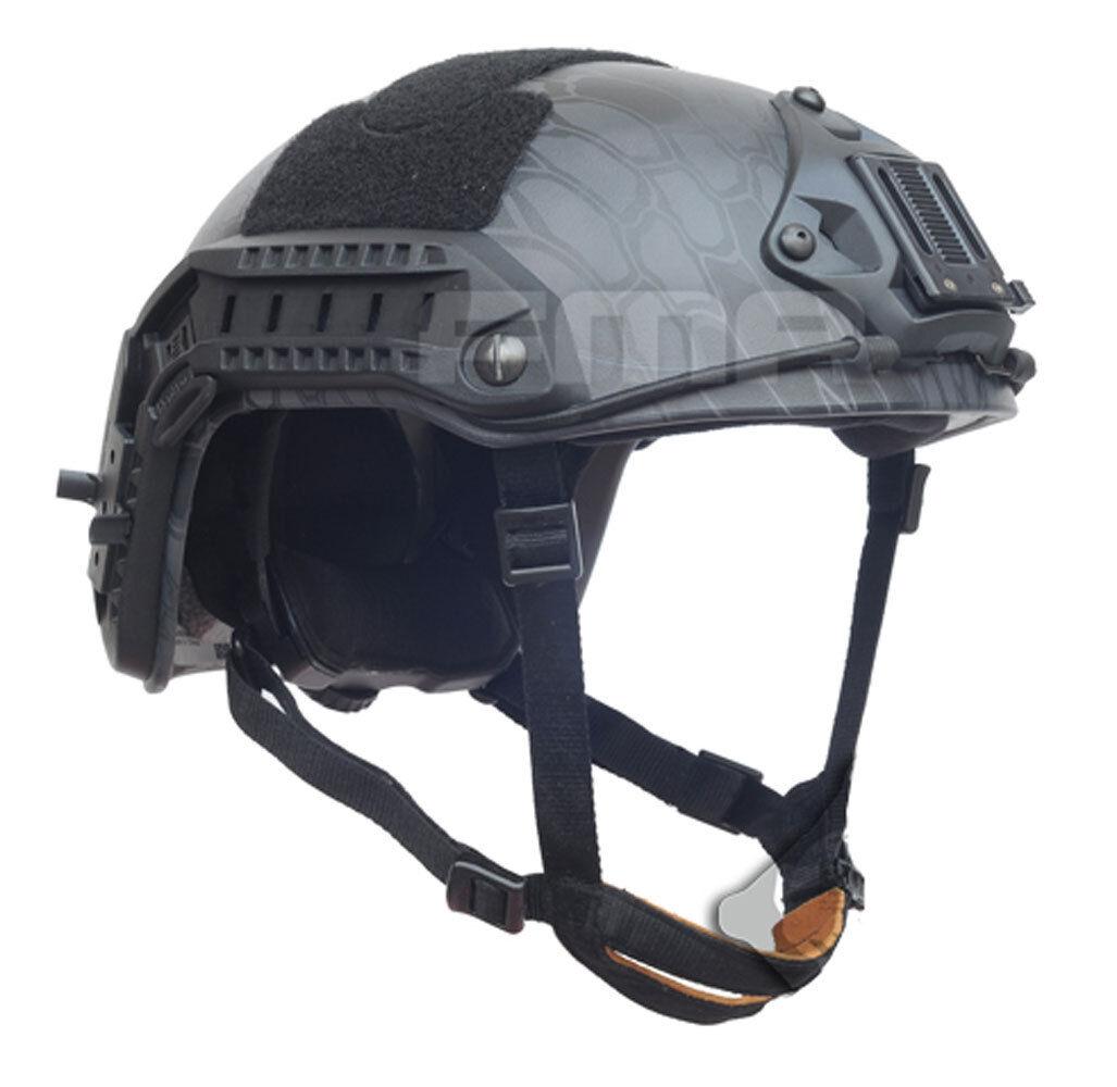 Airsoft Gun Paintball Outdoor Sports Predective Maritime Helmet TYPHON M L L874