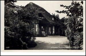 Timmendorfer-Strand-Schleswig-Holstein-AK-1930-40-Partie-an-der-Lesehalle
