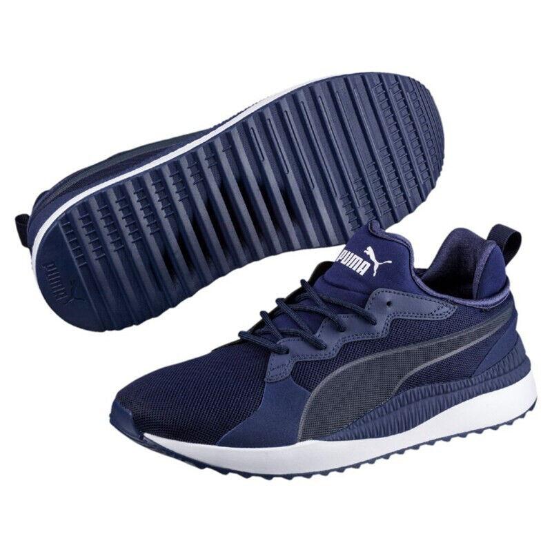 Men's Puma Sneakers Pacer Next bluee Depth Peacoat 363703-02 Size us 8-M