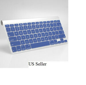 silicone cover skin protector for apple wireless imac bluetooth keyboard us ebay. Black Bedroom Furniture Sets. Home Design Ideas