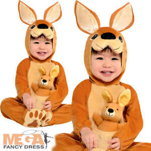 3915ac646a58e Kangaroo Baby Boys Fancy Dress Animal Zoo Safari Toddler Infants ...