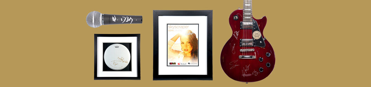 Shop memorabilia and give the gift of music.