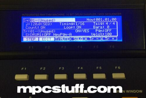 812326J 2000XL V.2 Replacement LCD Screen Akai MPC 2000 MPCstuff