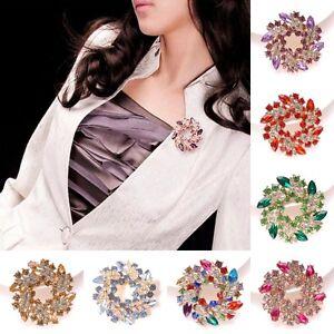 Fashion-Wedding-Bridal-Bouquet-Crystal-Rhinestone-Vintage-Brooch-Pin-Jewelry-New