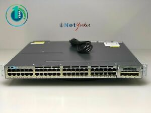 Cisco-WS-C3750X-48PF-E-48-Port-PoE-Gigabit-Switch-SAME-DAY-SHIPPING
