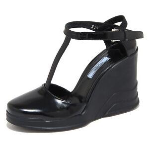 071ce803d7243 Caricamento dell immagine in corso 5986N-decollete-zeppa-PRADA-scarpe-donna- shoes-woman-