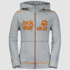 Jack-Wolfskin-REDLAND-Jacket-Fleecejacke-Alloy-Gray-Gr-116