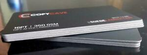 SUEDE LAMINATED BUSINESS CARDS Canada Preview