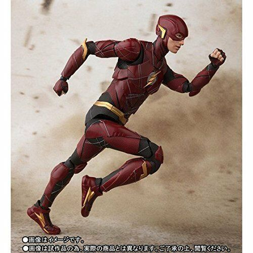 "Flash /""JUSTICE LEAGUE/"" Bandai S.H Figuarts BAN22549"
