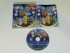 Buzz-Quiz-World-Playstation-3-PS3-MINT-Disc-Complete-CIB-VERY-Fast-Ship-World