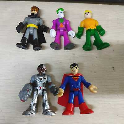 DC Fisher Price Imaginext Batman Robin The Joker Superman Loose Action Figure
