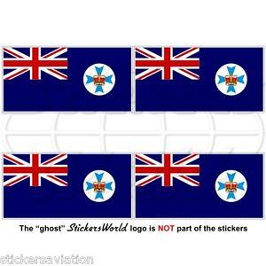 Bandera-del-estado-de-Queensland-Australia-Qld-australiano-50mm-Pegatinas-de-vinilo-calcomanias-x4