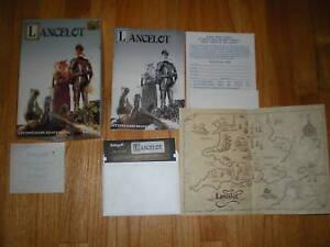 Lancelot-Commodore-64-C64-game-CLUE-BOOK-COMPLETE