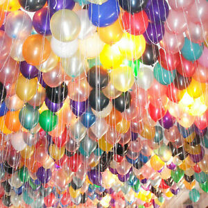 Helium latex balloon 11 color birthday party wedding xmas for Balloon decoration birthday party chennai