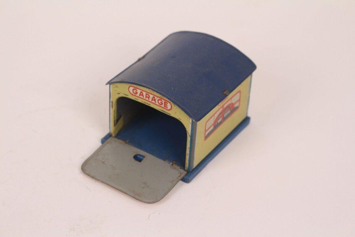 Heinrich Wimmer Garage Double Garage H. W. N. Made Germany Us Zone Tin Toy