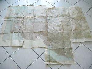 alte-Heeres-Karten-2-WK-Sued-Russland-Truppenausgabe-von-1-II-1942-1-100000