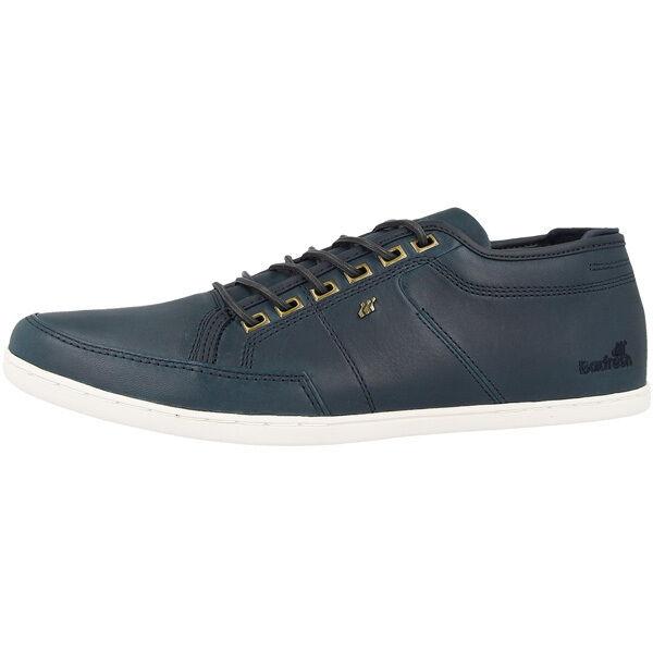 Zapatos promocionales para hombres y mujeres Boxfresh Sparko ICN Leather Sneaker Leder Schuhe Men Herren Navy E14730 Spencer