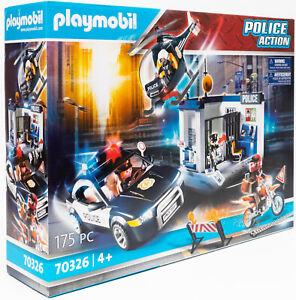 playmobil 70326 polizei action polizeistation polizeiwache