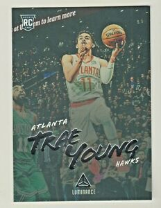 2018-19-Chronicles-LUMINANCE-TRAE-YOUNG-RC-Rookie-Atlanta-Hawks-QTY-AVAILABLE