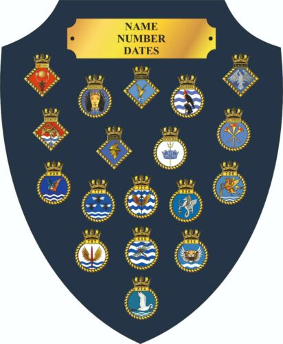 MILITARY HISTORY PRINTED ONTO PLAQUES