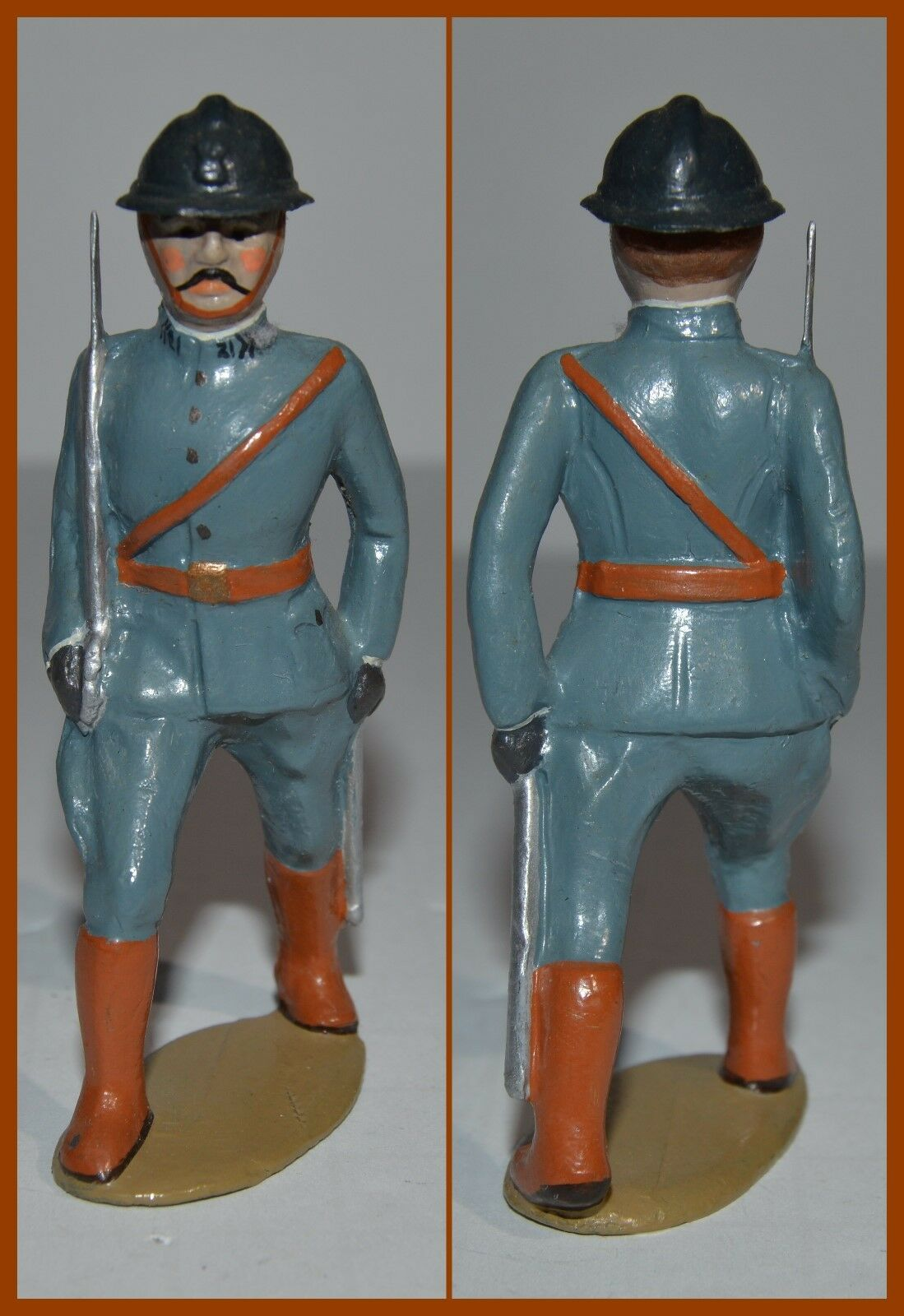 Bill O'Brien Hand Painted  Dimestore WW I French Officer