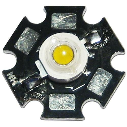 10x LED ad alte prestazioni chip 1w Verde Highpower STAR LED