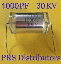Film Capacitor 1000pf 30kv Cb80 For Marx Generator Ham Audio Dc Pulse Circuits