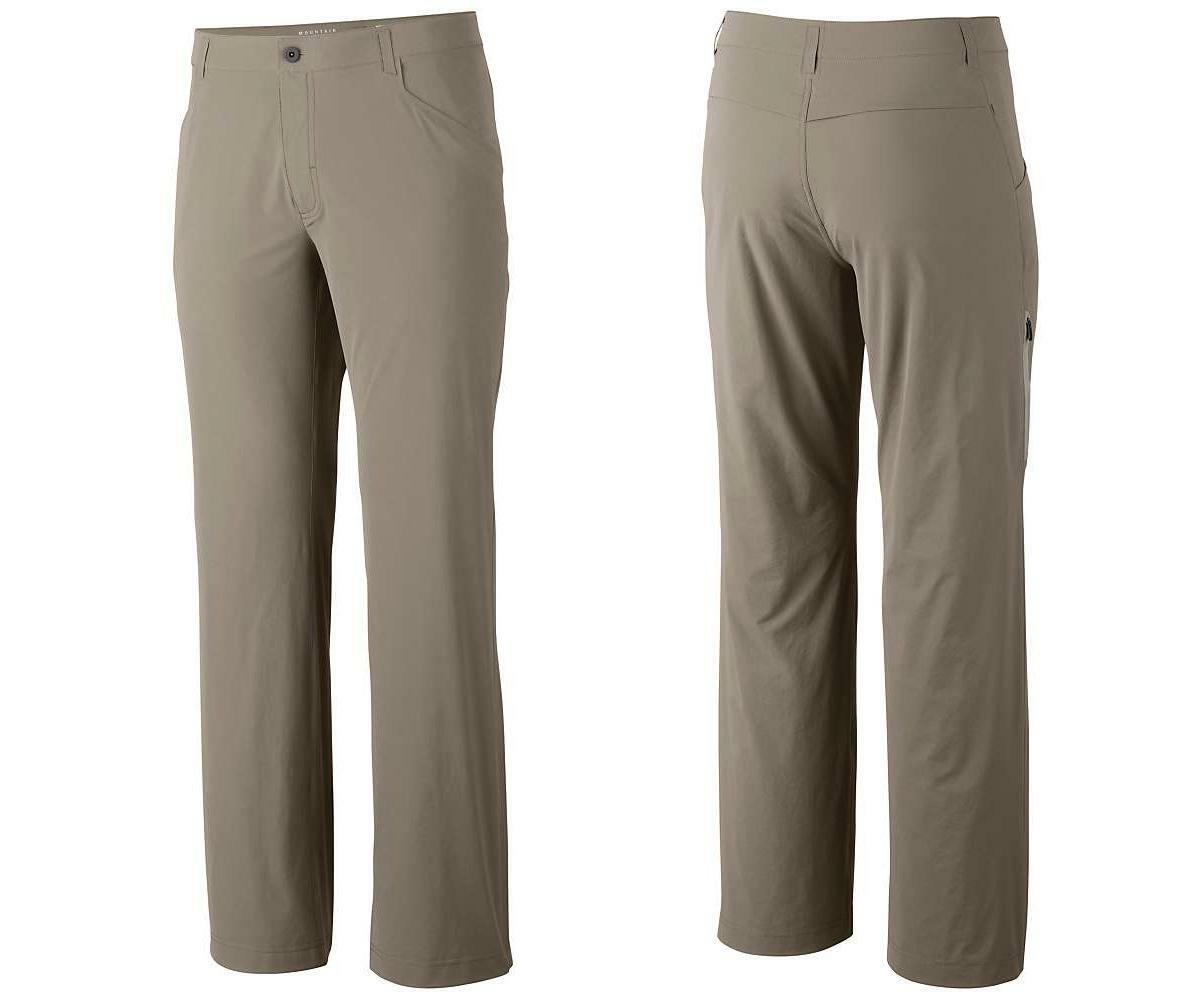 Mountain Hardwear Men's Rifugio Supreme Softshell Pants, 32 32 Khaki - NWT