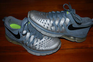 452d9de64052 Image is loading Mens-Nike-Fingertrap-Air-Max-Reflective-Silver-Training-