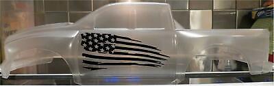 Vinyl paint masking stencil for Pro-Line Ram 1500 RC Bodies Flame Set #1