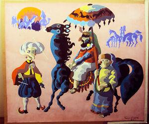 1977-Original-Painting-Signed-Karam-Badra-17-034-x-15-034