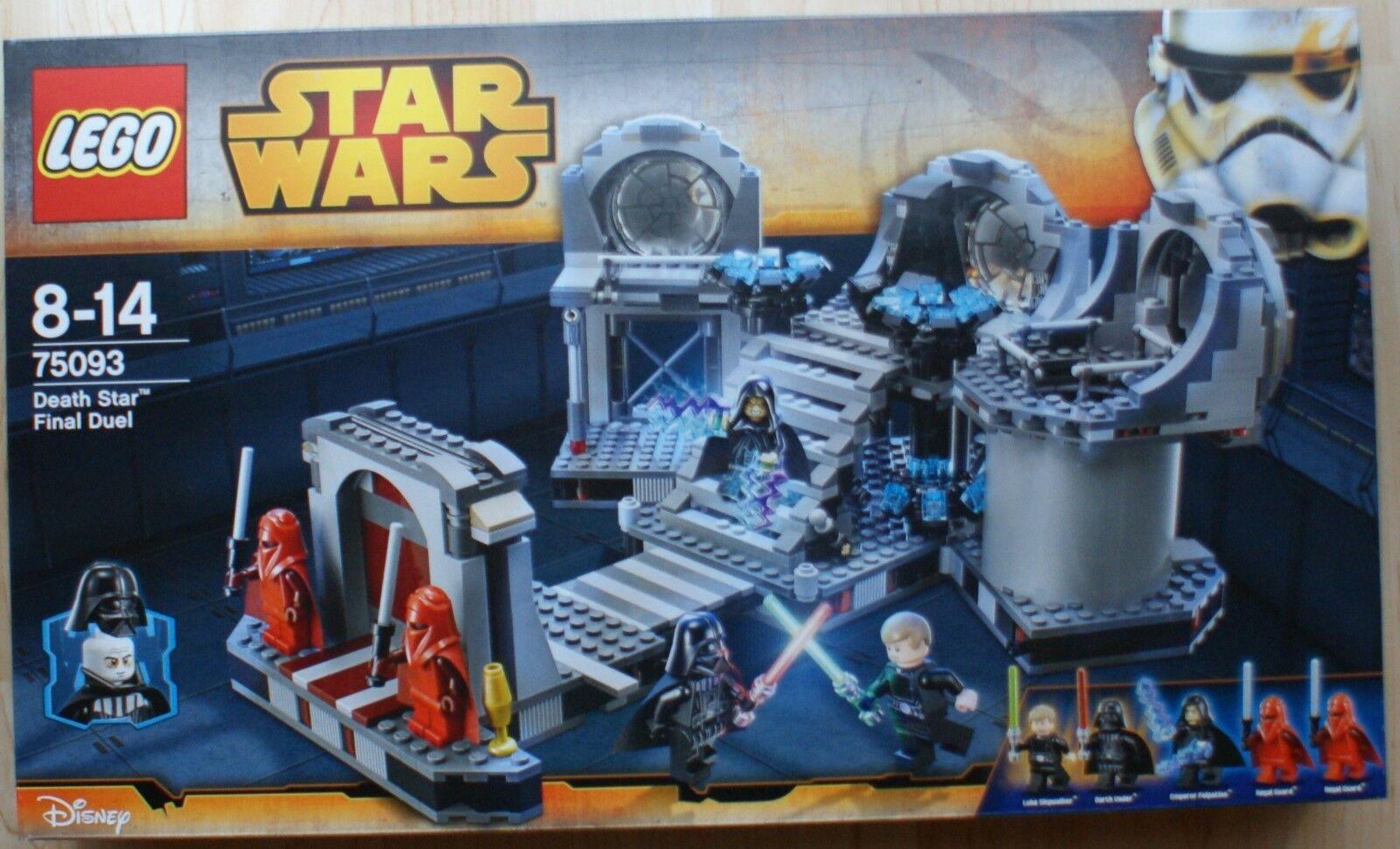 Lego - Star Wars - 75093 - Death Star Final Duel - NEU - KOMPLETT - OVP