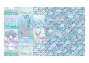 Image Is Loading Arthouse Mermazing Mermaid Wallpaper 698304 698305 Teal Lilac