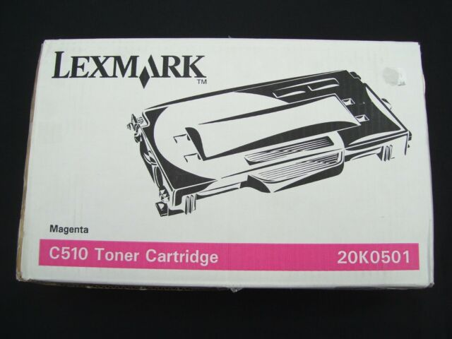 LEXMARK C510 20K0501 MAGENTA LASER TONER CARTRIDGE