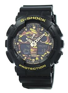 Casio-G-Shock-Camouflage-Series-GA-100CF-1A9-Men-039-s-Watch