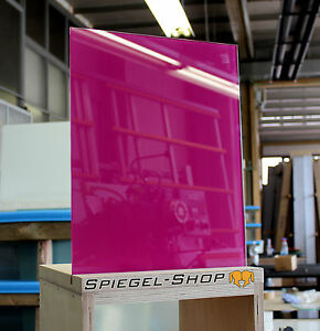 lacobel fuchsia - einseitig lila / pink lackiertes glas 6mm fÜr, Hause ideen