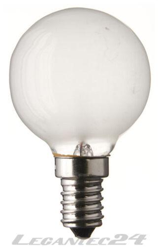 Glühlampe 230-240V 40W E14 45x70mm matt Glühbirne Birne 230-240Volt 40Watt neu