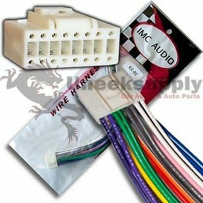 eclipse 16 pin wire harness power plug cd mp3 dvd hd tv. Black Bedroom Furniture Sets. Home Design Ideas