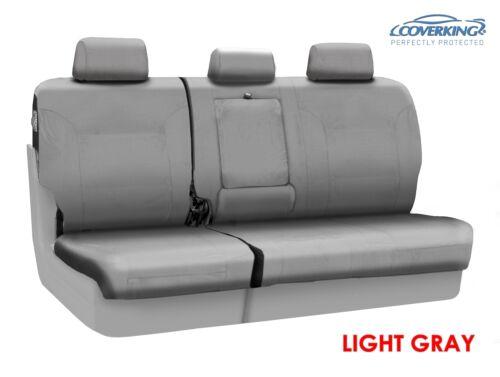 Coverking Cordura Ballistic Custom Fit Rear Seat Covers for Chevy Silverado