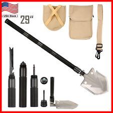 Folding Shovel Multi Functional Military Garden Camping Survival Spade Emergency